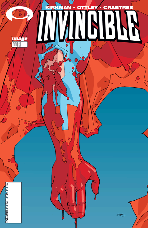 invincible Cover Issue 11